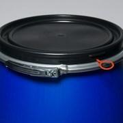 Новая Бочка пластиковая 260л. Open-Top синяя  фото