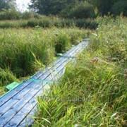 Секционный пешеходный болотный настил СПБН-3 фото