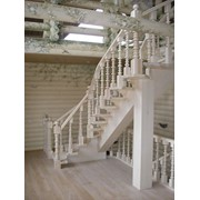 Лестницы на центральном косоуре фото