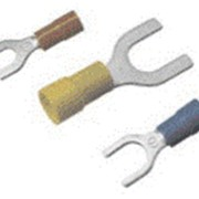 Опрессуемые вилочные наконечники RF-U, BF-U, GF-U, NL с изоляцией фото