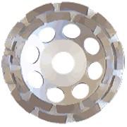 Круги алмазные сегментные чашечные TAMO 180*22,2 фото