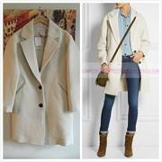 Шерстяное пальто женское 43729780967 фото