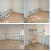 Металлические кровати эконом-класса фото