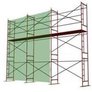 Строительная техника, Леса и конструкции для ремонтно-строительных работ,Леса строительные, Ограждения для строительных лесов фото