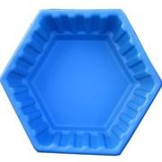 """Клумба садовая пластиковая """"Ромб"""" большой 210л. Цвет: Синий фото"""