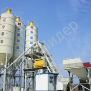 Бетонный завод HZS 100 фото