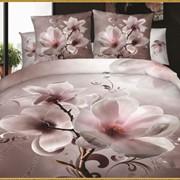 N 015 (438) Постельное белье Карвен сатин Де люкс 3D 2х спальный фото