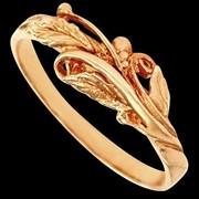 Кольцо золотое 03017 фото