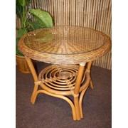 Мебель плетеная из ротанга фото