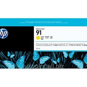 Картридж HP 91 Yellow 775 ml Ink Cartridge фото