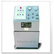 Агрегаты быстрой заправки баллонов жидкой двуокисью углерода типа АЗБУ фото