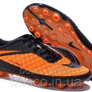 Футбольные бутсы Nike HyperVenom Phantom AG Orange/Black фото