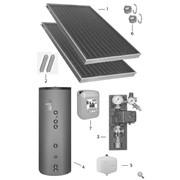 Вакуумные солнечные коллектора фото