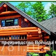 Срубы из бревна Вологда фото
