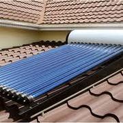 Монтаж систем солнечного нагрева воды, гелиосистемы