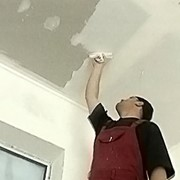 Шпаклёвка потолка (первый слой) фото