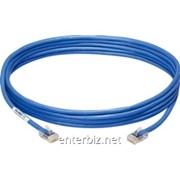 Патч-корд литой, UTP, RJ45, Cat.5e, 20m, синий, код 27625 фото