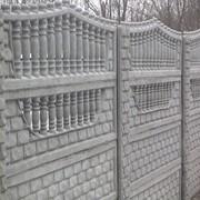 Строительство и установка заборов из бетона фото