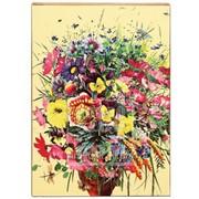 Панно декоративное Букет цветов 1 Артикул: 038005ид19001 фото