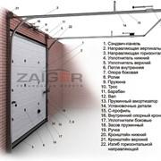 Секционные ворота ZAIGER фото
