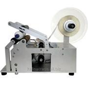 Этикетировочный полуавтомат для круглой тары фото