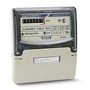 Счетчик электрический ЭНЕРГОМЕРА Счетчик эл. энергии трехфазный ЦЭ6803В P32 5-60А однотарифный, (DIN) фото