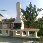 Установка монтаж кладка мангал барбекю комплексов фото