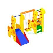 Игровой комплекс для помещений Жирафы со счетами ДК-05.03/01 фото