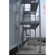 Лестницы пожарные фото