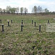 Винтовые сваи для фундамента под забор (диаметр 73 мм) фото