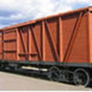 Вагоны грузовые железнодорожные проходческие фото