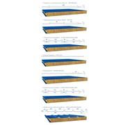 Сендвич-панели с наполнителем из минеральной ваты на основе базальтового волокна. фото
