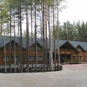 Дом из оцилиндрованного бревна РД - 60
