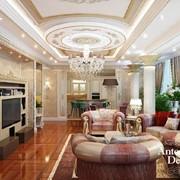 VIP интерьер дома в стиле ар деко фото