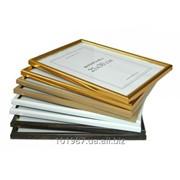 Рамки 21х30 см для дипломов из пластика фото