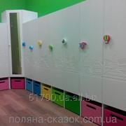 Шкафчики для детского сада. Коллекция Городок. фото