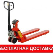 Складская тележка гидравлическая г/п от 2-5т. фото