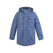 Куртка Crockid удлиненная BK36036/N/. (Линии на графите, 140-146, 2) фото