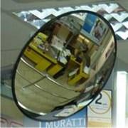 Обзорные зеркала безопасности D=300мм  фото