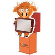 Детский автомат развивайка бычок фото