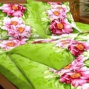 Ткань постельная Бязь 142 гр/м2 150 см Набивная Розовый пион/S335 TDT фото