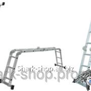 Лестница многоцелевая 4 секции 3 ступени 3.5м 5120431 фото