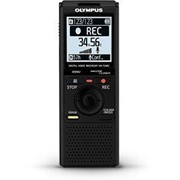 Диктофон OL Diсtophone VN-733PC (4GB) Batteries, Portable USB Cable, Case and Stereo Earphone Black фото
