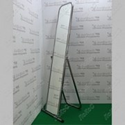 Зеркало напольное, 500Lx1550Hx500D мм, полотно 1500х250 мм. 5MS-01(asinox) фото