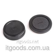 Крышка камеры + задняя крышка объектива Olympus OM 4/3 E620 E520 E510 TW 2402 фото