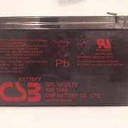 Батареи аккумуляторные GPL-12120-12 Ah фото