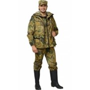 Костюм Охотник (куртка, брюки, жилет) КМФ Дубок жёлтый фото