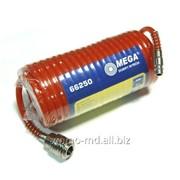 Шланг пневматический спиральный 10м 6/8mm, 200psi, 6bar/66251 фото