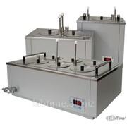 Баня масляная (Токр+5...+200 °С) , 6 рабочих мест, глубина ванны 60 мм, размер открытой поверх ЛБ61-2 фото