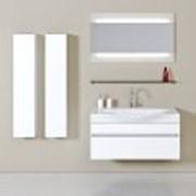 Комплект мебели для ванной комнаты Бергамо 100 Aqwella фото